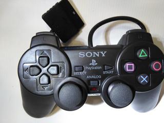Control Playstation 2 Ps2 Dual Shock 2 Alambrico Vibration