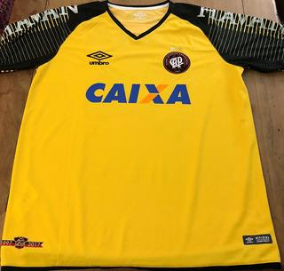 Camisa Atlético Paranaense Usada Brasileirão 2018 Goleiro