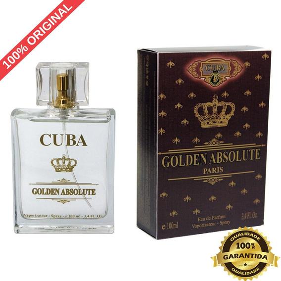 Cuba Golden Absolute 100ml (inspiração Malbec)