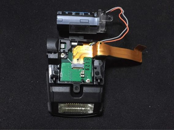 Flash Cânon Sx510 Hs Bloco Ótico Wi-fi Placas E Capacitor