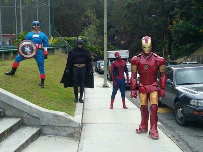 Alquiler De Show Muñecote D Iron Man , Los Vengadores