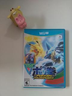 Pokkén Tournament Wii U Garantizado