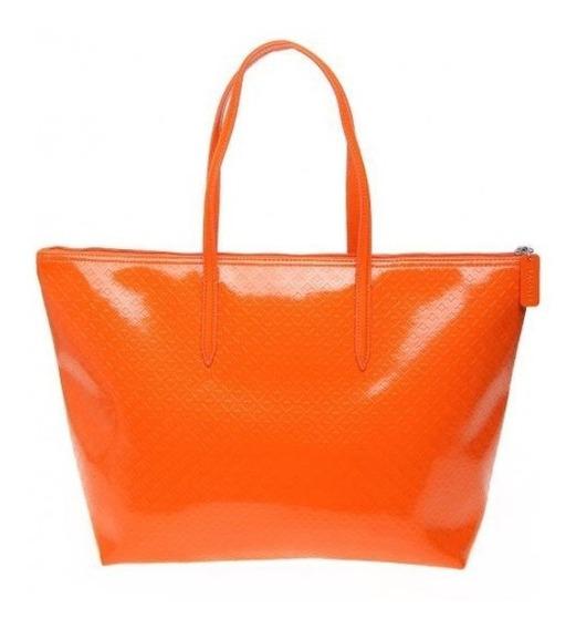 Cartera De Mujer Lacost E Spicy Orange
