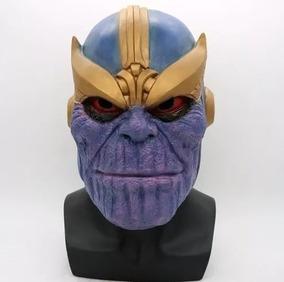 Mascara Thanos Latex Avengers Vingadores Cosplay
