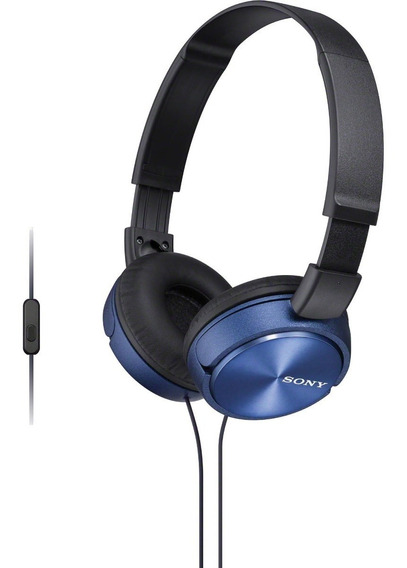 Fone Ouvido Sony Mdr-zx310 P2 C/ Microfone P/ Celular Tablet