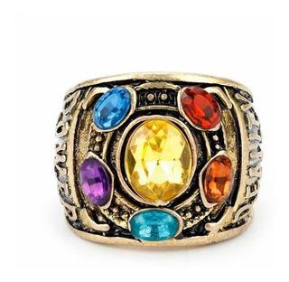 Anillo Thanos Infinity War Marvel 6 Gemas Del Infinito