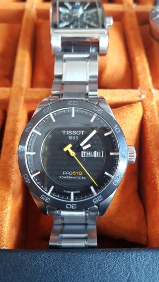 Reloj Tissot Prs 516 Bicel Ceramico, 42mm.