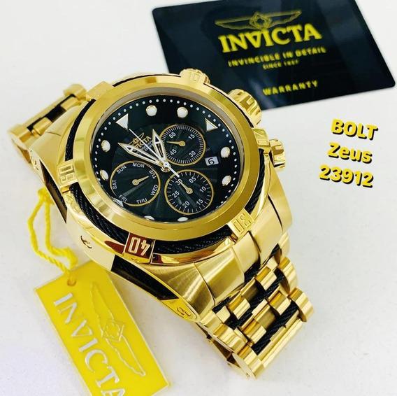 Relógio Invicta 23912 Bolt Zeus Reserve, Frete Grátis, 12x