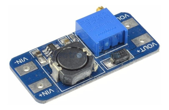 Fuente Step Up Mt3608 Dc Dc Booster Hasta 28v Arduino.