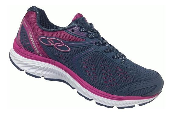Tênis Feminino Olympikus Rapid - Rosa/roxo