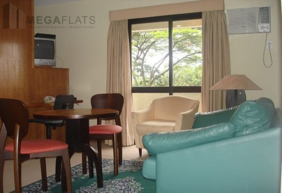 03272 - Flat 1 Dorm, Brooklin Novo - São Paulo/sp - 3272
