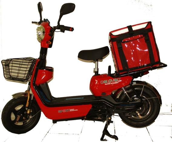 Moto Electrica Golovolt Z-21 Reparto O Transporte
