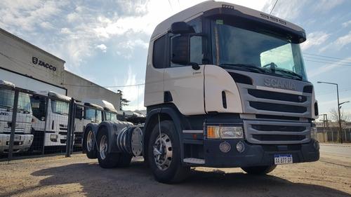 Scania P 360 6x2 Opticruise 6x2 Impecable Abs,ebs,etc Financ