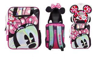 Mochila Espalda Jardin Disney Minnie C/capucha Km740