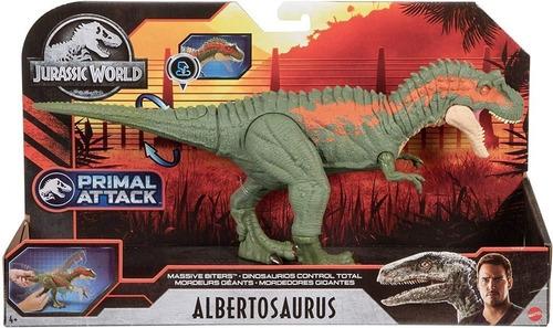 Imagem 1 de 5 de Dinossauro Albertosaurus Jurassic World Camp Cretáceo Mattel
