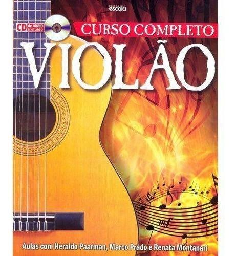 Livro Curso Completo Violão Com Cd De Áudio