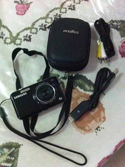 Câmera Digital Samsung Pl120 + Microsd 8gb