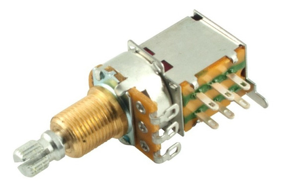 Potenciômetro Push-push Tone Gauge 500k