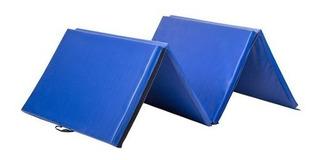 Colchonetas Pvc Lavable 4 Pliegues Con Manilla 180x60x5x4