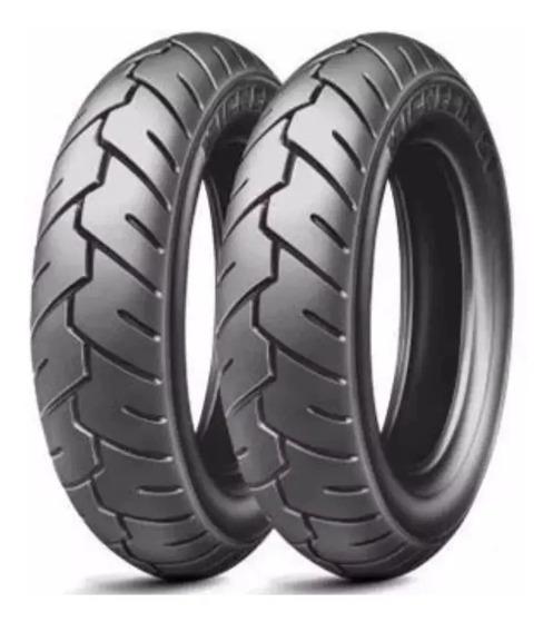 Par Pneu Burgman Michelin S1 100/90-10 + 90/90-10