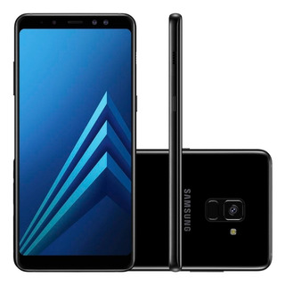 ¹smartphone Samsung Galaxy A8/ Tela 5.8/64gb/preto+ Brinde