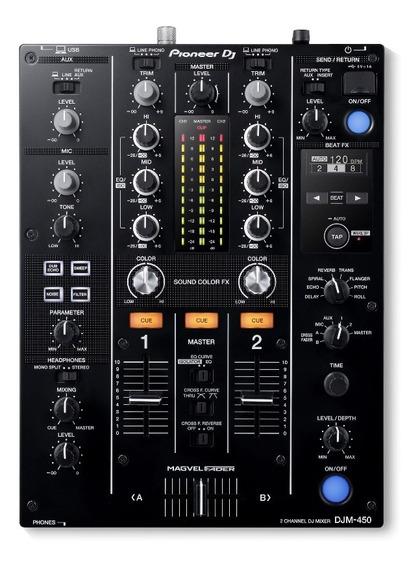 Mixer Djm 450 Pioneer Dj Nota Fiscal E 1 Ano Garantia Djm450