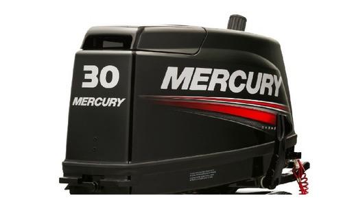 Imagen 1 de 14 de Motor Fuera De Borda Mercury 30 Hp Comandos 2 Tiempos Tanque