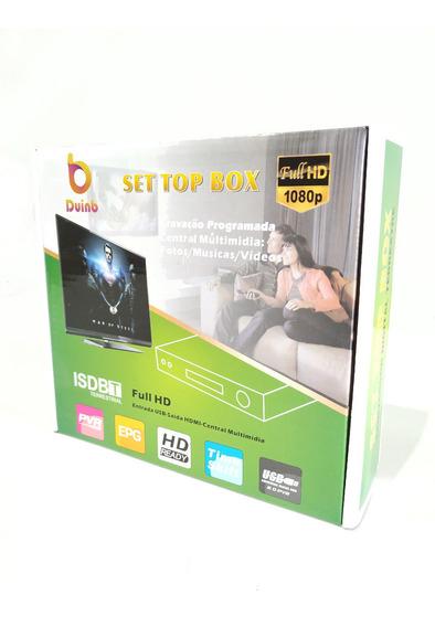 Conversor Tv Digital E Gravador Receptor Multimidia Full Hd