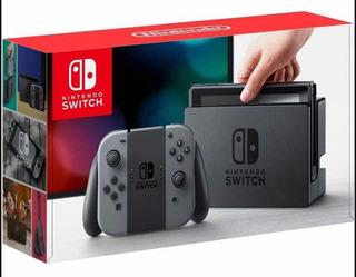 Nintendo Switch Gris Con 5 Juegos En Formato Digital