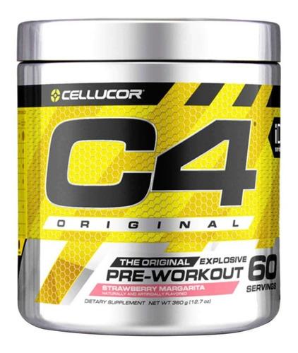 C4 Pre-workout 60 Serv - Cellucor  + Envío Gratis