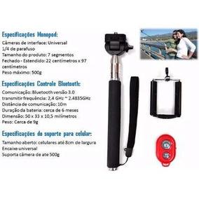 Kit Smartphone Lentes Olho Peixe Tripé Pau Selfie Barato Top