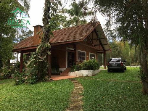 Chácara Com 3 Dormitórios À Venda, 1600 M² Por R$ 1.600 - Sapateiros - Embu-guaçu/sp - Ch0034