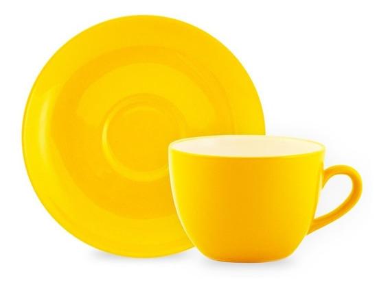 Taza Pocillo Plato Vajilla Colores Barista Arte Latte Cafe