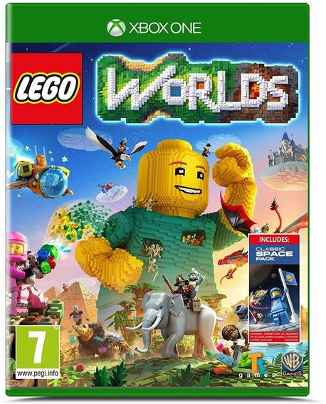 Lego Worlds Xbox One Mídia Digital + 1 Jogo Grátis
