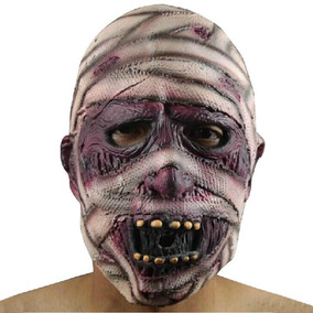 Máscara Látex Múmia Realista - Fantasia Carnaval Halloween