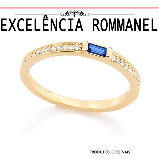 Anel Rommanel Skinny Zirconia Formatura 511879