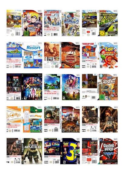Wii Patchs Variados Dvd-rom 10 Unidades