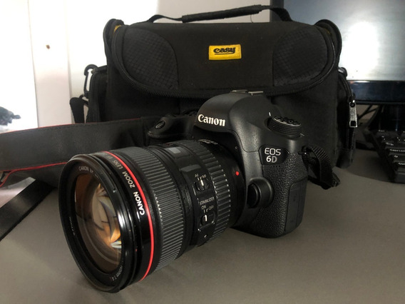 Canon 6d Semi Nova (kit)