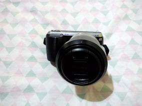 Kit Youtuber - Camera Sony Nex-c3 + Lente + Gravador + Mic