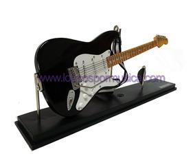 Miniatura Guitarra Stratocaster Preto 1:4/25cm