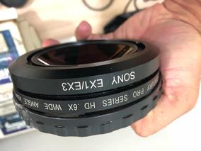 Lente Grande Angular Pra Câmeras Ex3 Sony E Ex1 Sony