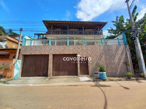Casa Com 3 Dormitórios À Venda, 150 M²  - Flamengo - Maricá/rj - Ca4721