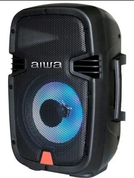 Corneta Amplificada Portátil Aiwa Usb,bluetooth,radio Am.fm