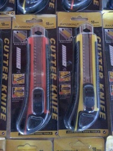Exacto Cuter Cortador Profesional 18mm 2 Hojas De Repuesto