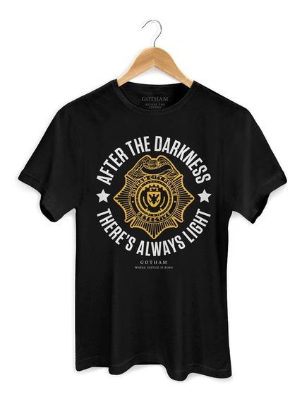 Camiseta Batman Gotham There´s Always Light - Bandup!