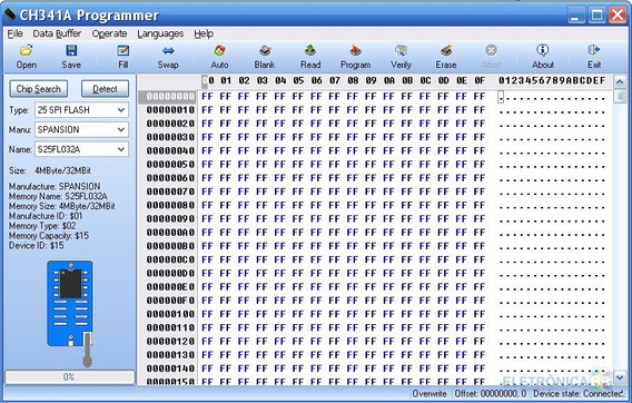 Programa Gravadora Ch341a 24xx 25xx Spi Flash(portugues Br)
