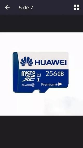 Huawei Micro Sd Premium 256 Gb Até 100 Mb/s