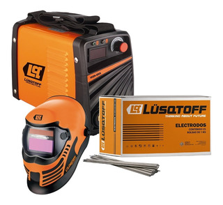 Kit Soldador Megairon250 +mascara Stb1+electrodos Lusqtoff 6