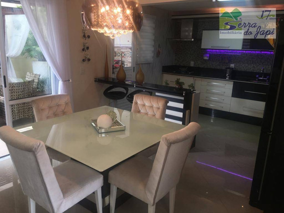 Casa 3 Dormitórios À Venda, 173 M² Por R$ 1.130.000 - Nature Village- Jundiaí/sp - Ca2071