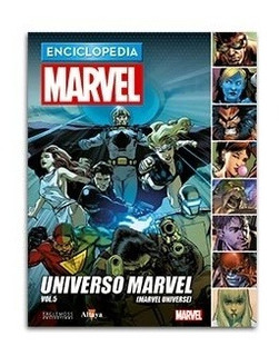 Comic Enciclopedia Marvel # 80 Universo Marvel Vol. 05